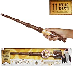 Harry Potter, Albus Dumbledore's Wizard Training Wand - 11 SPELLS To Cast! Official Toy Wand with Lights & Sounds – Wand & Lord Voldemort Wand Also Available