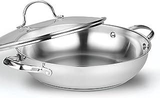 Cooks Standard - Sartén clásica de acero inoxidable (30 cm)