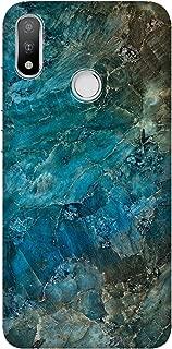 Cupcase® Casper Via A3 Kılıf Telefon Esnek Baskılı Silikon Kapak TPU Case - Mavi Mermer - Kod3018