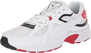 Puma Men's Axis Plus 90s Fashion Sneakers Puma White/Puma Black/Red