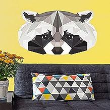 "Oopsy Daisy NB22546 Wild Animal Raccoon Peel & Place by Linn Maria, 28"" x 35 """