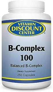 Vitamin Discount Center B-Complex 100mg, 250 Capsules