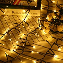 RECHING Flexible LED Branches String Lights-10Meter/100LED,Fairy Lights,Artificial Tree Branch Pendant String Lights for Bedroom Patio Garden Parties Christmas Holiday(Warm White)