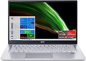 "Acer Swift 3 Thin & Light Laptop   14"" Full HD IPS 100% sRGB Display   AMD Ryzen 7 5700U Octa-Core Processor   8GB..."