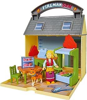Simba 109251057 Fireman Sam Cod Cafe with 2 Figures