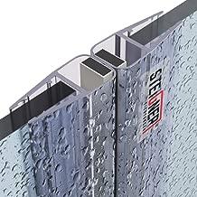 STEIGNER 190cm UK33-06 Guarnizione box doccia per 5mm// 6mm Spessore del vetro Guarnizione doccia sostitutiva deflettente Protegge la cabina dallumidit/à dritta