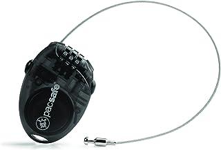 Pacsafe Retractasafe 100 3 Dial Retractable Cable Lock, Smoke