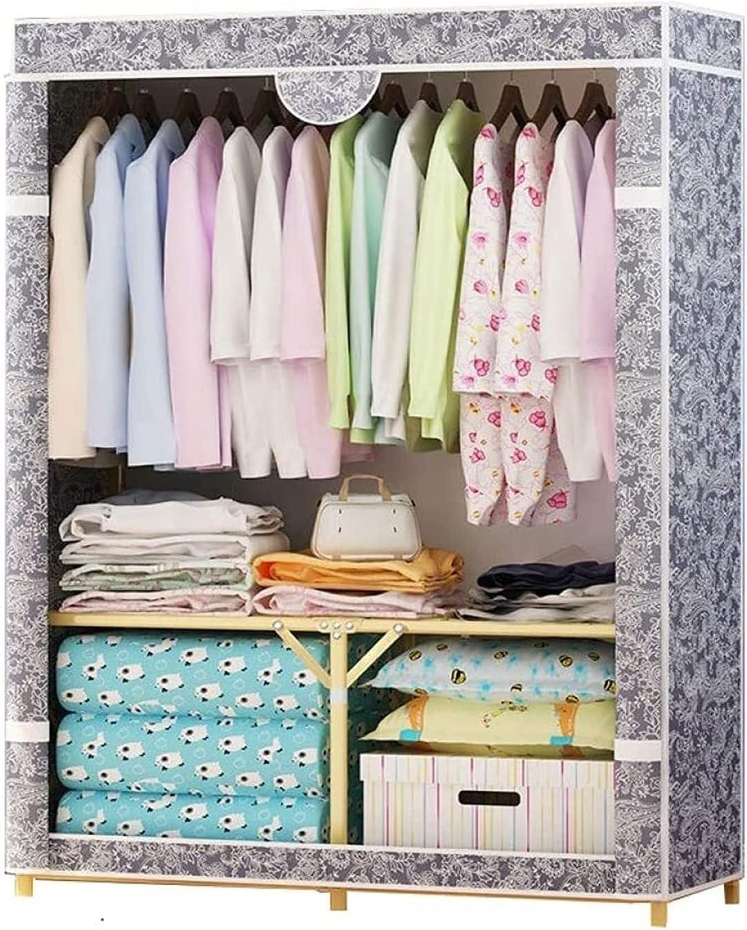ZZYE Manufacturer regenerated Houston Mall product Wardrobe Closet Foldable Portable Clothes