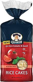 Quaker Garden Tomato & Basil Rice Cakes 6.1oz, one bag