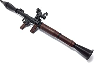 4D 1/6 Scale RPG-7 Rocket Propelled Grenade Launcher Anti-Tank Bazooka Russian Army Fit for 12