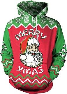 FHJNSEDTGYH Donna Uomo Natale Divertente Regalo di Natale