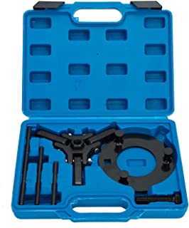 8MILELAKE Harmonic Balancer Dampener Puller Compatible for Chrysler GM Ford Mitsubishi