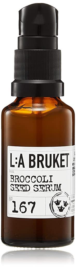 伝染性のマングルさびたL:a Bruket (ラ ブルケット) ブロッコリーシードフェイスセラム 30ml