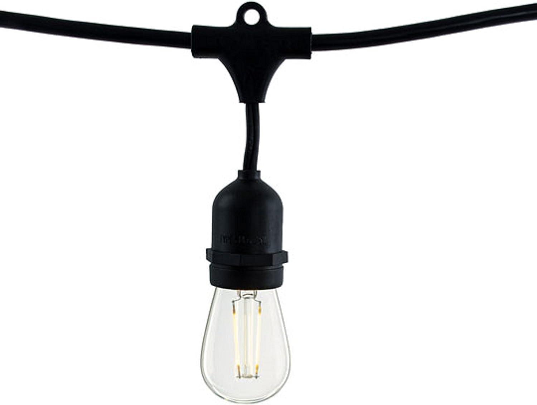 Bulbrite 810009  14 ft. 10- Socket with 2W S14 LED String Light Set