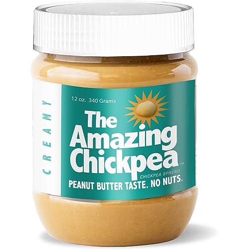 Chickpea Butter Spread - Creamy (12 Oz)