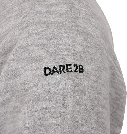 Dare 2b Obstinate Half Zip Marl Fleece with Stretch Binding To Cuffs Forro Polar Hombre