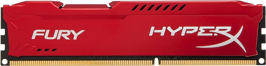 Kingston HyperX FURY 8GB 1333MHz DDR3 CL9 DIMM - Red (HX313C9FR/8)