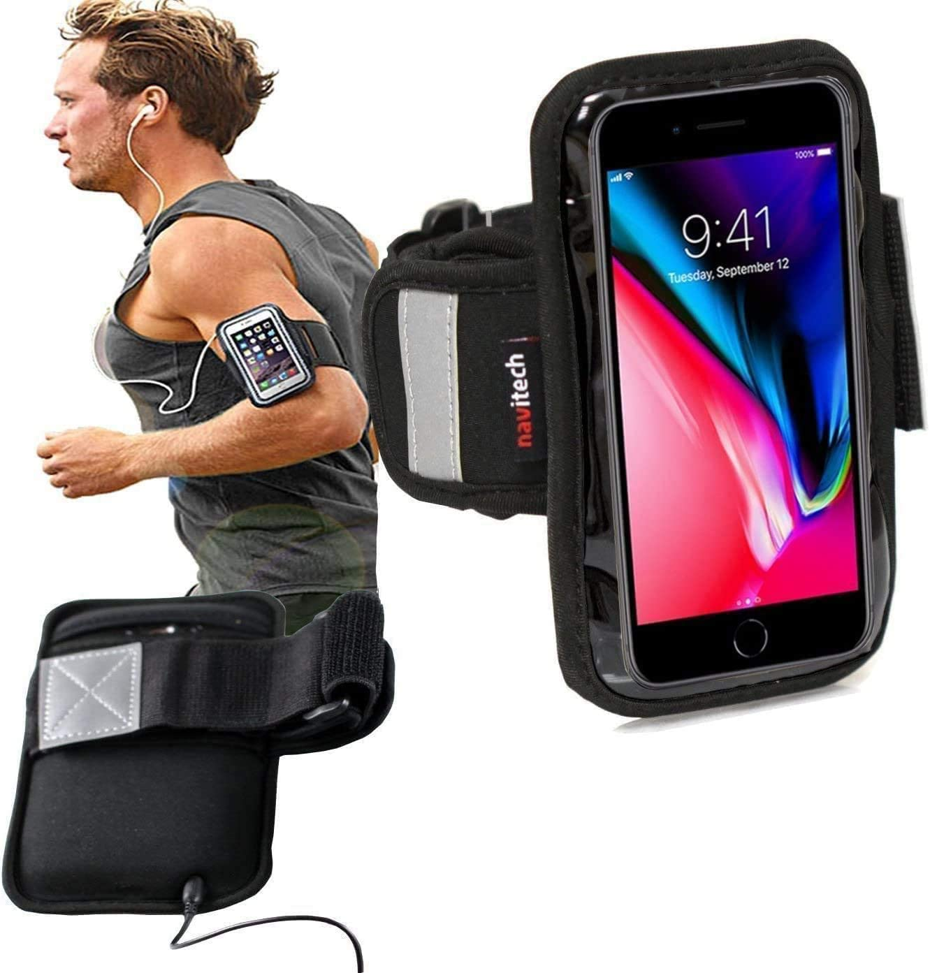 2021new shipping free shipping Navitech SM-Armband Sports Armband Smartphon with Industry No. 1 Compatible The