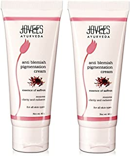 Jovees Ayurveda Essence of Saffron Anti Blemish Pigmentation Cream, 60g (Pack of 2)
