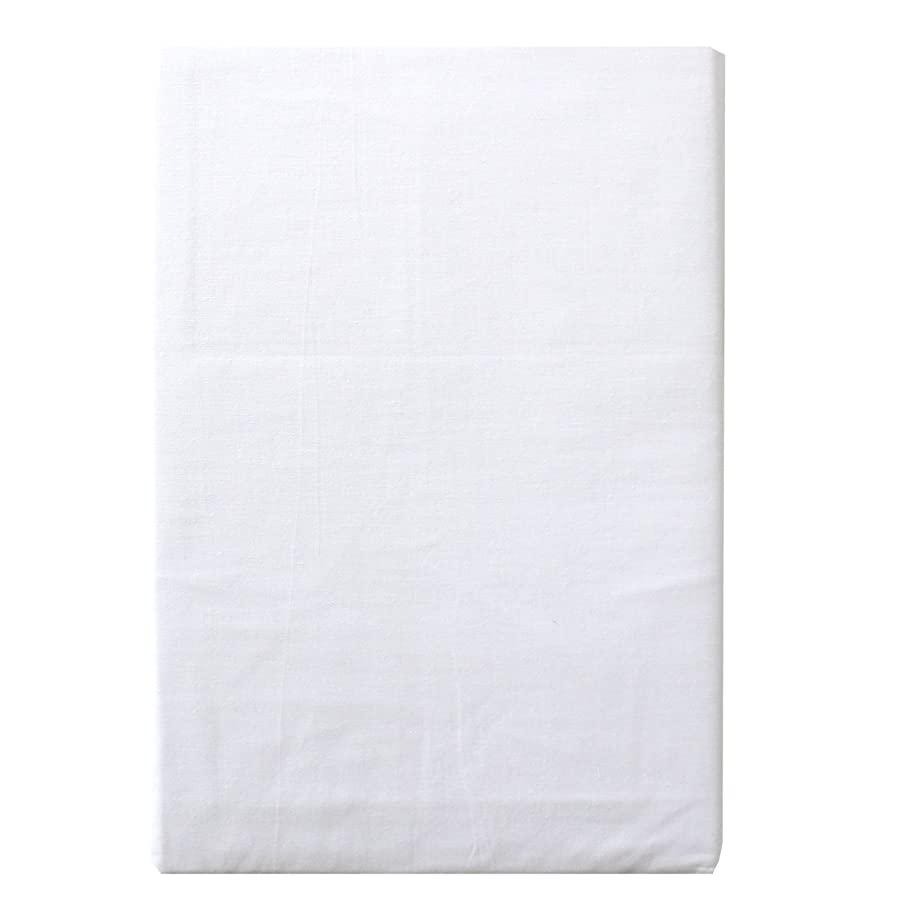 そよ風贅沢ポーターメリーナイト 綿100% 敷布団カバー シングルロング ホワイト CT1311-06
