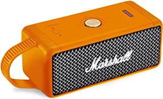 Seracle Silikon hülle Tragetasche Case Schlinge Tasche für Marshall Emberton Tragbarer Lautsprecher (Orange)