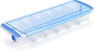 GoodCook , Prep and Freeze Stackable, Easy Release Silicon Cube Tray, 2-ounce Ice Cubes, Baby Food, Herb Butter, Cold Brew...
