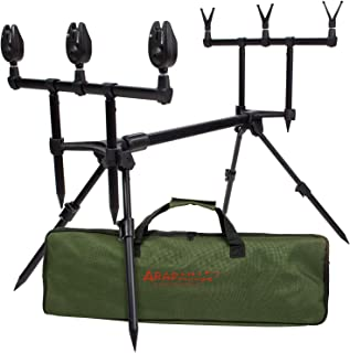 ARAPAIMA FISHING EQUIPMENT Rod Pod Set Lakeview - Soporte de