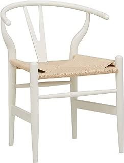 Stone & Beam Classic Wishbone Dining Chair, 29.1