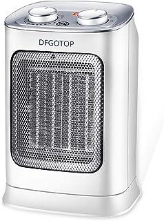 DFGOTOP Mini Calefactor Eléctrico Cerámico Baño, Calefacción Eléctrica Silenciosa Bajo Consumo, Portátil Calefactores Aire...