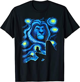 Lion King Mufasa Starry Night Pride Rock T-Shirt