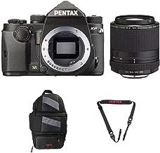 Pentax KP DSLR Camera (KP Black, w/Pentax 55-300mm Lens)