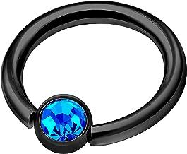 sapphire septum ring
