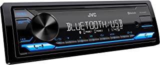 $79 » JVC KD-SX26BT Bluetooth Car Stereo Receiver with USB Port – AM/FM Radio, MP3 Player, High Contrast LCD, Detachable Face Pl...