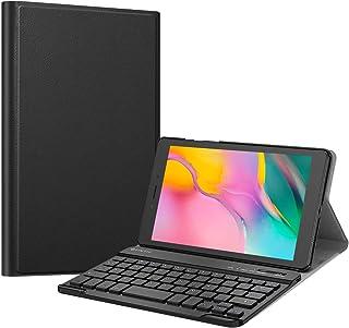 حافظة لوحة مفاتيح Fintie لجهاز Samsung Galaxy Tab A 8.0 2019 بدون نموذج قلم S SM-T290 Wifi SM-T295 LTE)، غطاء حامل خفيف ال...