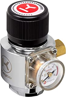 Kegco NS-BMR-L CO2 Regulator, Mini