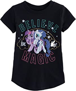 Jumping Beans Girls 4-10 My Little Pony Magic Rarity & Twilight Sparkle Graphic Tee