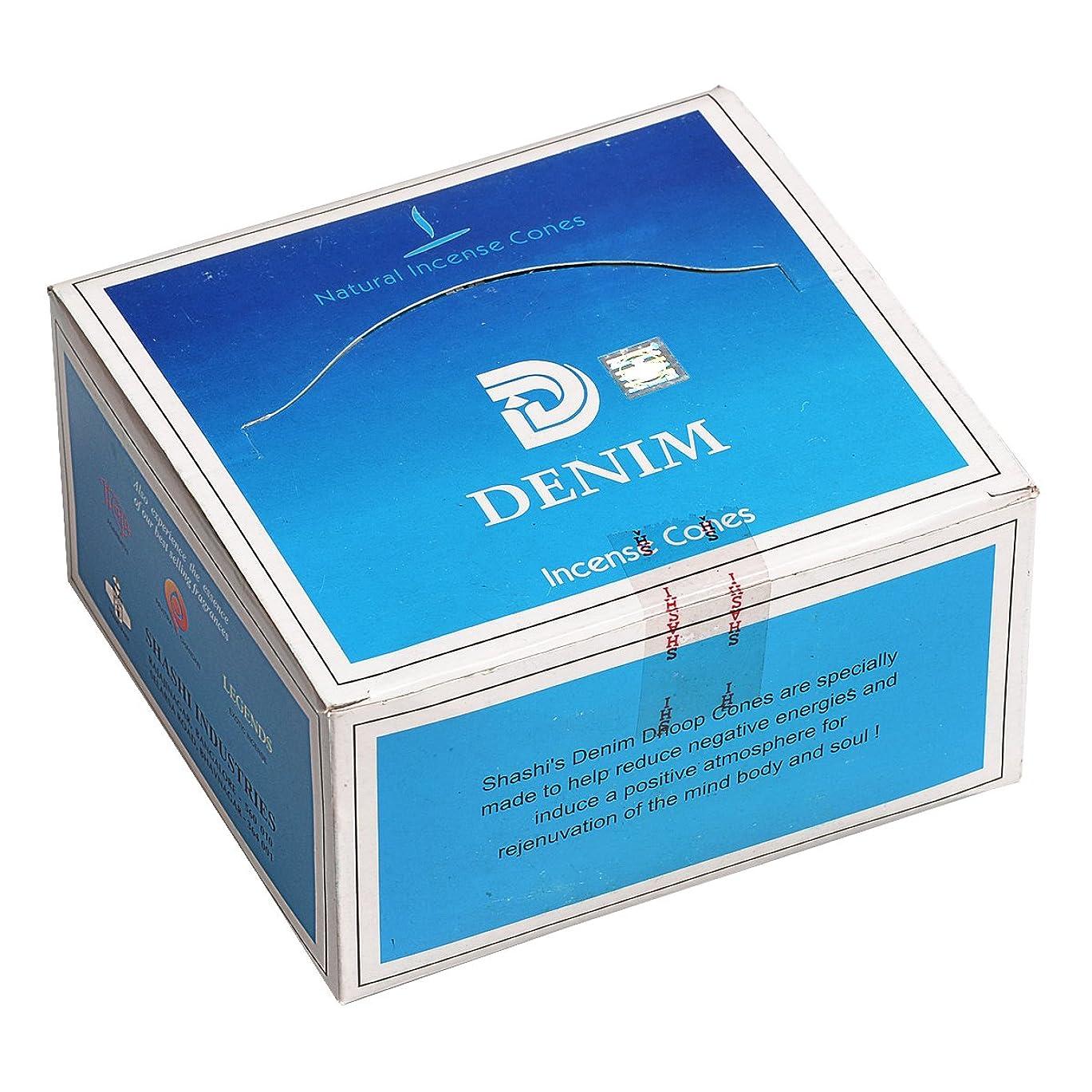 ジュース非効率的な有効化SHASHI(シャシ) デニム DENIM コーンタイプ コーンタイプ お香 12箱 セット [並行輸入品]