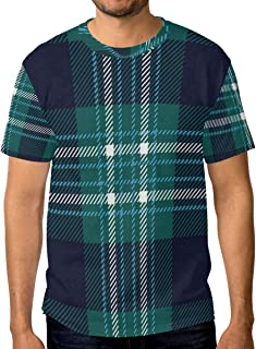 082cd9e78054 Lovexue Geometric Hippie Striped Stripes T Shirts for Men Top Tee Crew Neck  Performance ...
