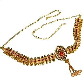 RED and Golden Waist Hip Belt Kamarband