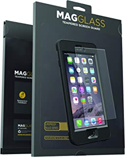 Magglass Custom Screen Protector for Lifeproof Nuud Case (iPhone 6 Plus) Tempered Glass Only, Case Not Included