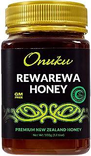 Sponsored Ad - Onuku Premium New Zealand Natural 100% Pure Rewarewa Honey - Vitamins Minerals Rich High Nutrient Non GMO U...