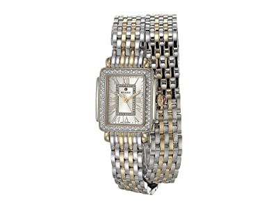 Michele Deco Madison Mini Double Wrap Bracelet (Gold Plated/Silver) Watches