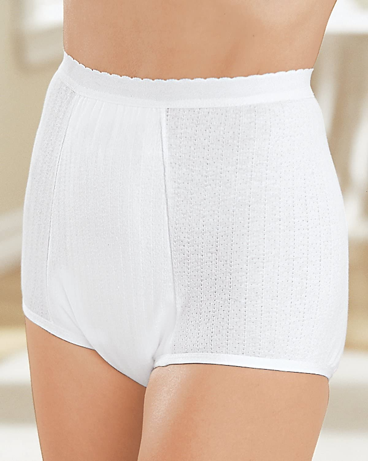 Health Dri Nylon Heavy Direct store Duty White Outstanding 14 Incontinence Panty