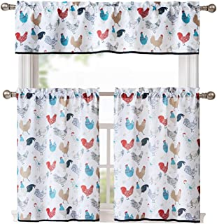 Amazon Com Chicken Kitchen Curtains