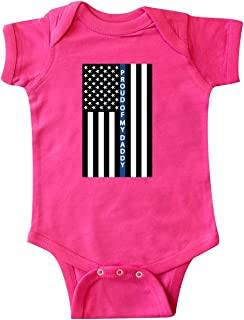 Police Officer Daddy Law Enforcement Infant Creeper