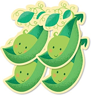 Sweet Pea in a Pod - Pea Pod Decorations DIY Baby Shower or First Birthday Party Essentials - Set of 20