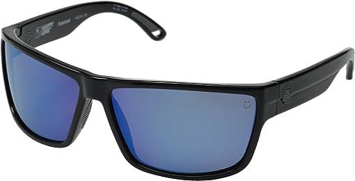 Black/Happy Bronze Polar w/ Blue Spectra