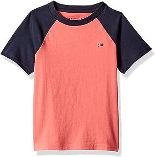 Baby Boys' Toddler Raglan Short Sleeve Tee Shirt