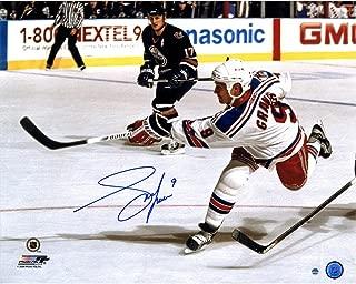 NHL New York Rangers Adam Graves Signed Slapshot 16x20 Photo