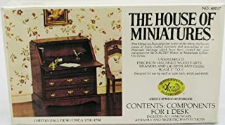 House of Miniatures Chippendale Desk Kit/Circa 1750-1790 #40017